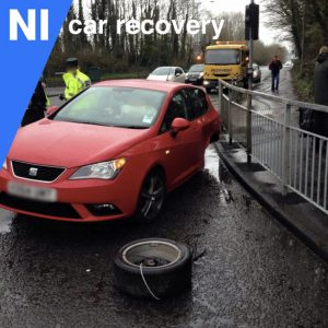 Recovering A Car In An Accident In Crumlin