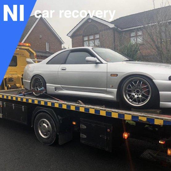 Recovering A Broken Down Car In West Belfast