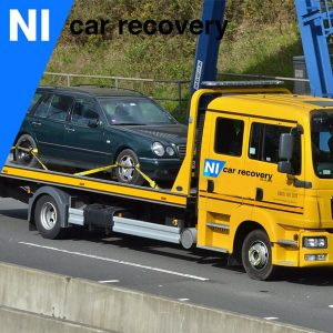 Recovering A Car In Belfast